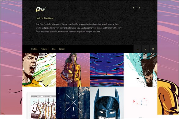 Funkiest WordPress Themes - One Plus