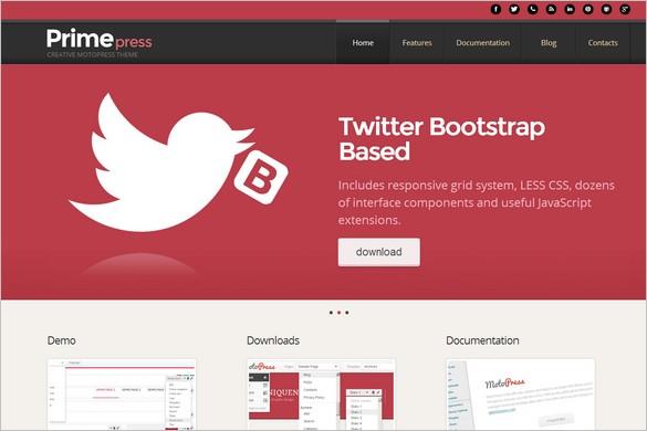 Best Free WordPress Themes - PrimePress