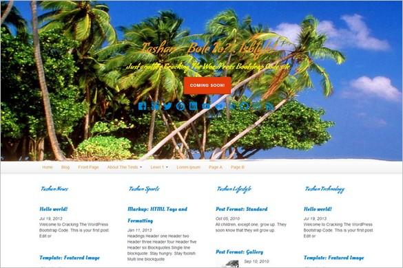 Free Outstanding WordPress Themes - Tashan