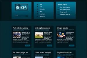Quality WordPress Premium Themes - The Boxes
