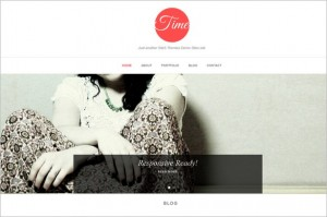 Free Exciting WordPress Themes - Time