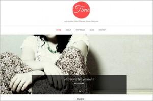 New Free WordPress Themes - Time