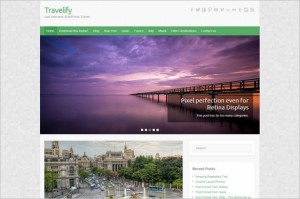 Free Exciting WordPress Themes - Travelify
