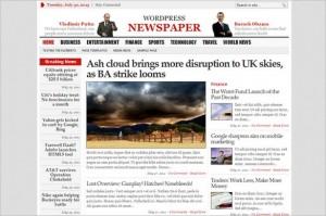Typography WordPress Themes - WP Newspaper