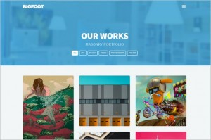BigFoot Free Showcase WordPress Theme from THBThemes