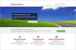 BootStart Twitter Bootstrap WordPress Theme by Gabfire