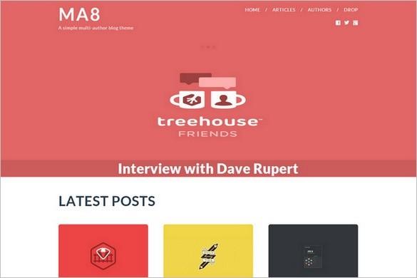 Smashing Free WordPress Themes - MA8