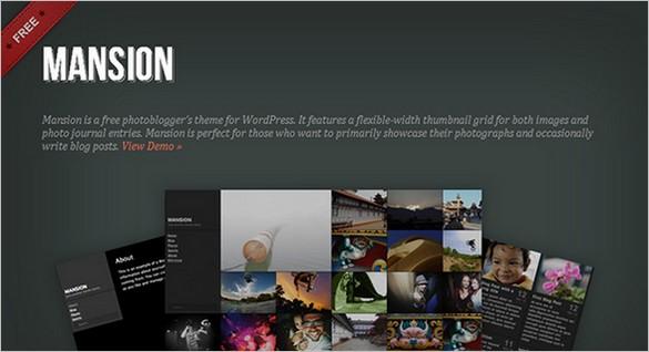 Eye-Catchy WordPress Themes - Mansion