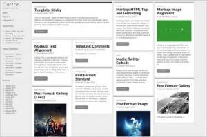 Exceptional Free WordPress Themes - Carton