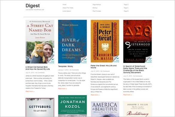 Exceptional and Free WordPress Themes - Digest