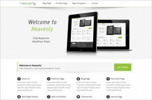 Heavenly Free WordPress Theme