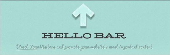 WordPress Plug-ins You Need to Grab Attention - Hello Bar