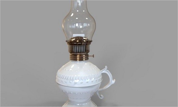 Free Files - Gas - Oil Lamp