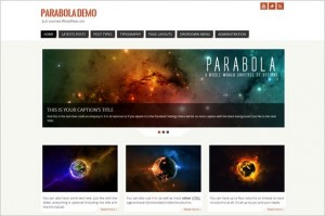 Exceptional Free WordPress Themes - Parabola