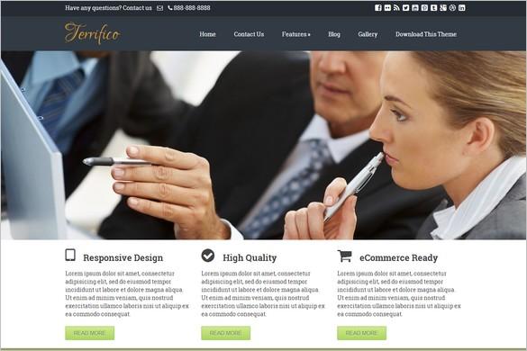 Terrifico Free WordPress Theme