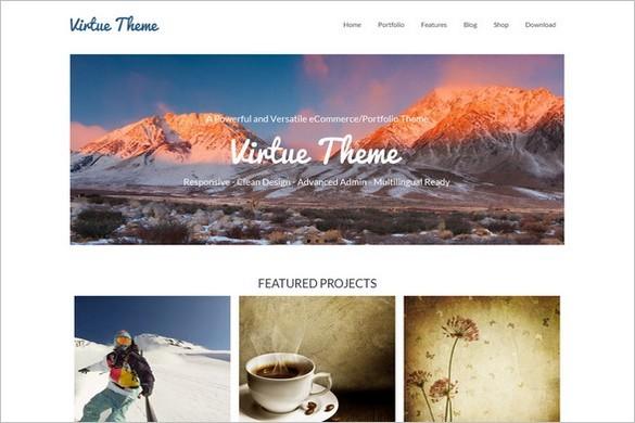 Virtue Free WordPress Theme