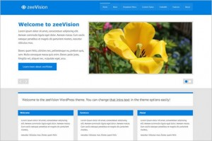 Exciting Free WordPress Themes - zeeVision
