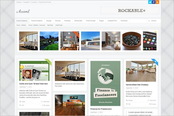 Pinterest Inspired Themes for WordPress - Accord