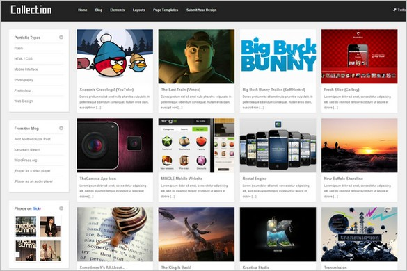 Pinterest Inspired Themes for WordPress - Collection