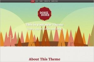 Brand New Free WordPress Themes - Doke Doke