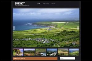 Dazzling Free WordPress Themes - Dusky