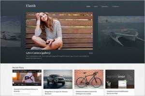 Pinterest Inspired Themes for WordPress - Elastik