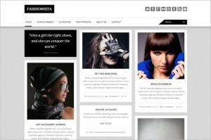 Pinterest Inspired Themes for WordPress - Fashionista