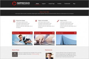 Impressio-Lite Free WordPress Theme