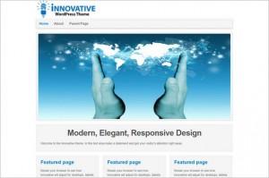 Brand New Free WordPress Themes - Innovative
