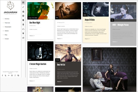 Pinterest Inspired Themes for WordPress - Jaguarian