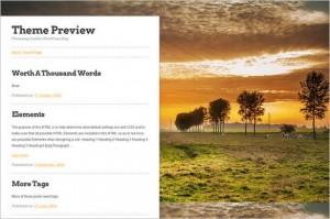Brand New WordPress Themes - Landline