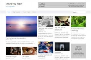 Pinterest Inspired Themes for WordPress - Modern Grid