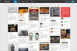 Pinterest Inspired Themes for WordPress - Pinable