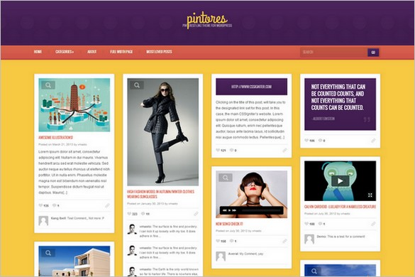 Pintores WordPress Theme from CSSIgniter