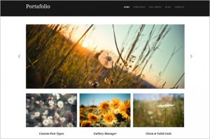 Brand New Free WordPress Themes - Portafolio