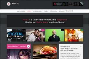 Pinterest Inspired Themes for WordPress - Pravda