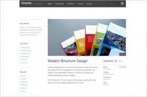 Brand New Free WordPress Themes - Rewrite