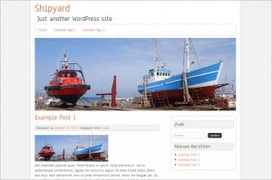 Shipyard Free WordPress Theme