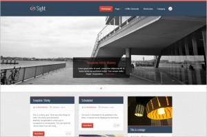 Pinterest Inspired Themes for WordPress - Sight