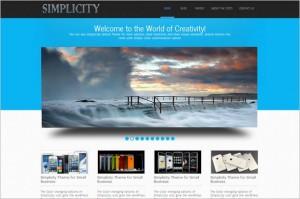 Simplicity Lite Free WordPress Theme