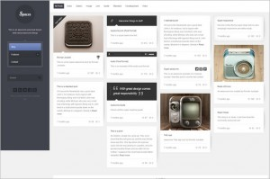 Pinterest Inspired Themes for WordPress - Spaces