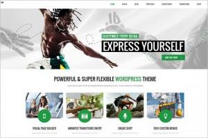 Attractive WordPress Themes - Subway