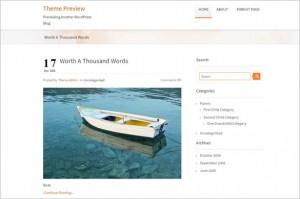 Free Fresh WordPress Themes - Traffica