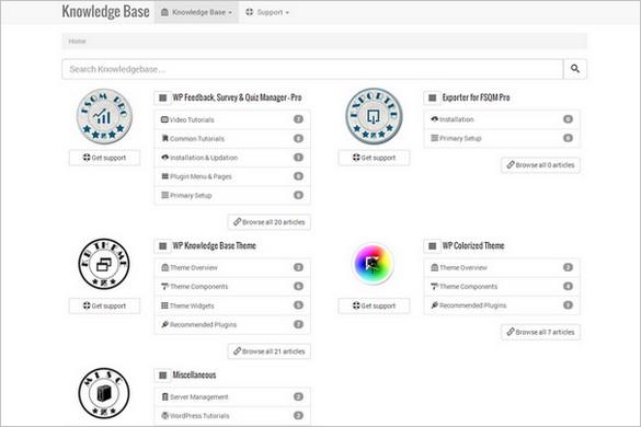 WP Knowledge Base Free WordPress Theme