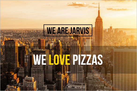 Very Popular One Page WordPress Themes - Jarvis