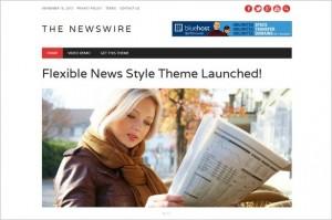 Newswire Free WordPress Theme