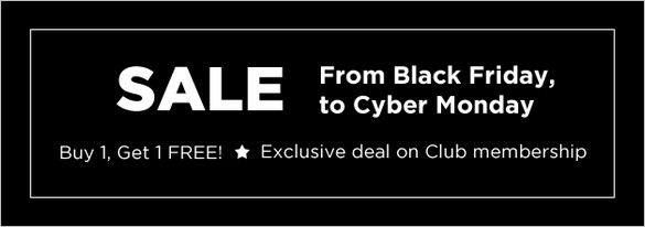Black Friday & Cyber Monday Deals - Templatic