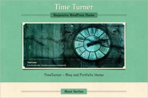 WordPress Themes Directory - TimeTurner