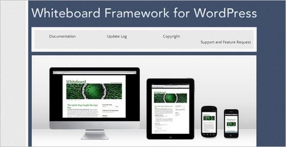 WordPress Theme Frameworks - WhiteBoard