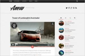 Anew Free WordPress Theme
